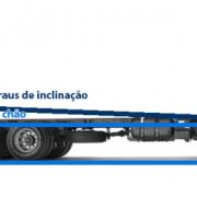 Traseira de caminhão alta